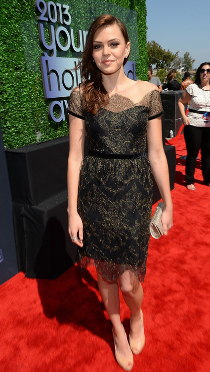 Aimee Teegarden en Young Hollywood Awards