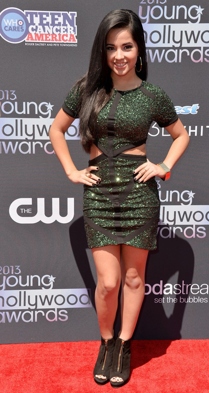 Becki G en Young Hollywood Awards