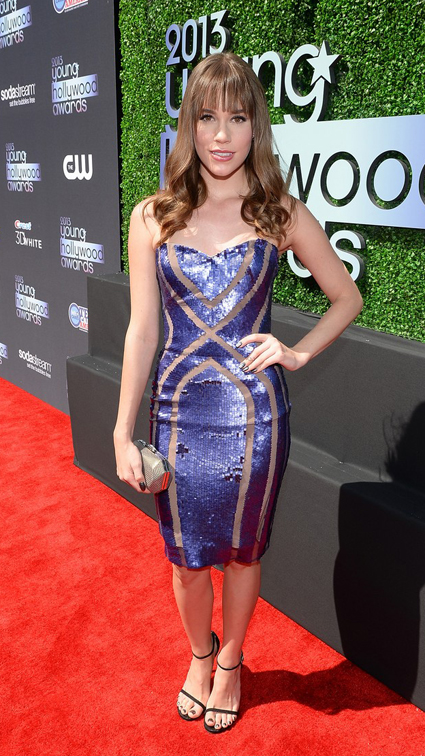 Christa B Allen en Young Hollywood Awards