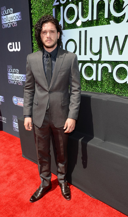 Kit Harrington en Young Hollywood Awards