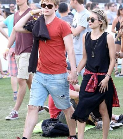 Celebrities en el Festival de Coachella 2014 (día 2)