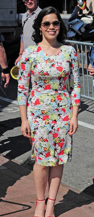 America Ferrera en el Festival de Cannes 2014