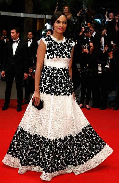 Rosario Dawson en el Festival de Cannes 2014