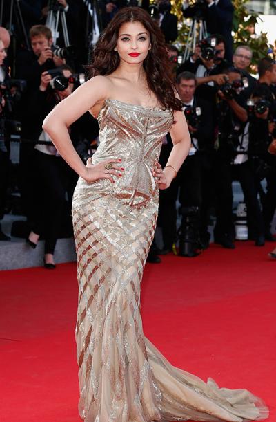 Aiswarya Rai en el Festival de Cannes 2014