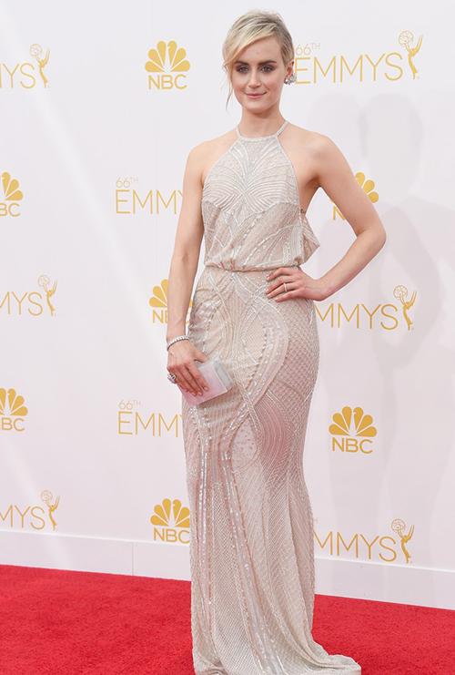 Taylor Schilling en los Premios Emmy 2014
