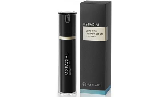 M2 Facial Dual Cell Therapy Serum, el producto de M2 Beauté para el rostro