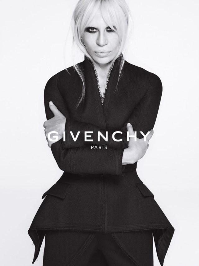Donatella Versace para Gyvenchy
