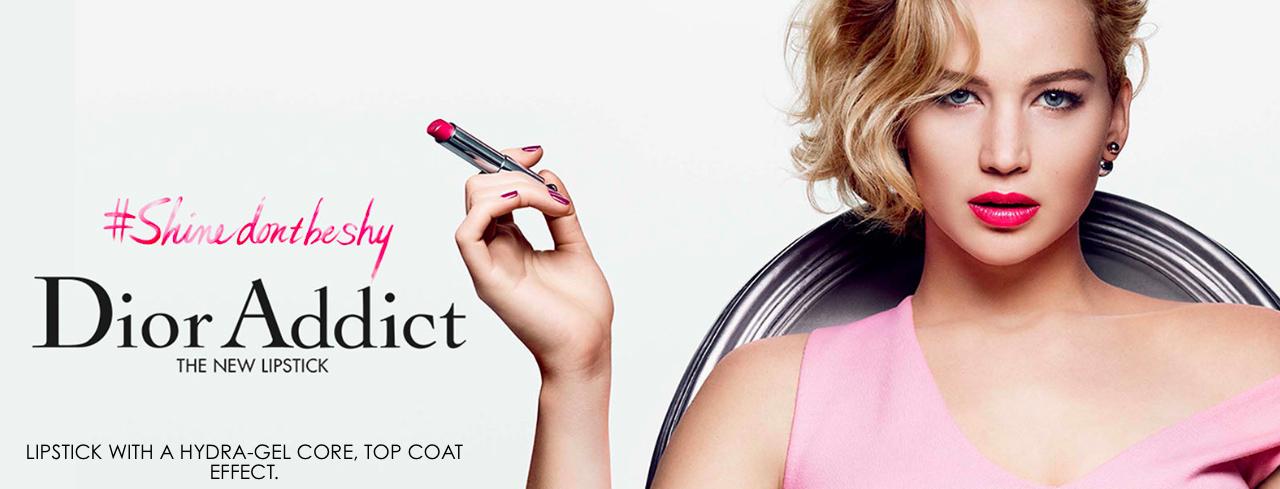 Jennifer Lawrence imagen la la nueva campaña de DIOR BEAUTY