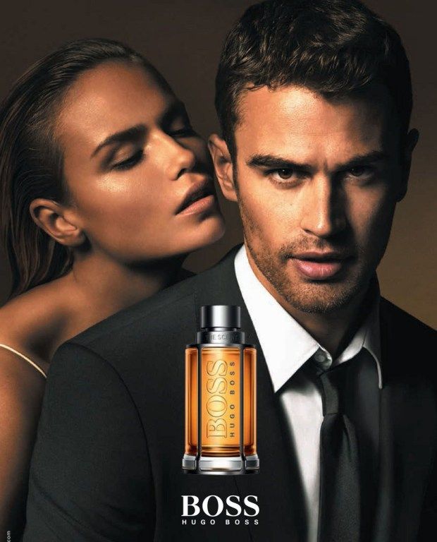Theo James para Hugo Boss