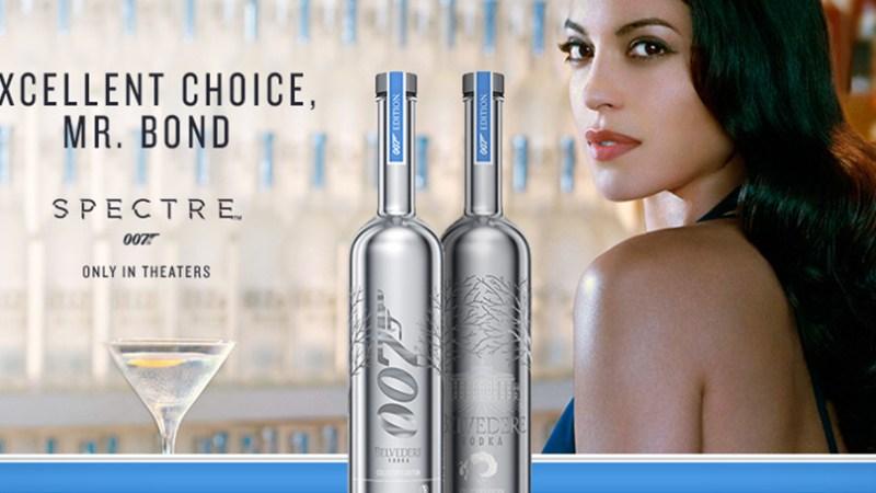 Belvedere Vodka, la bebida de James Bond