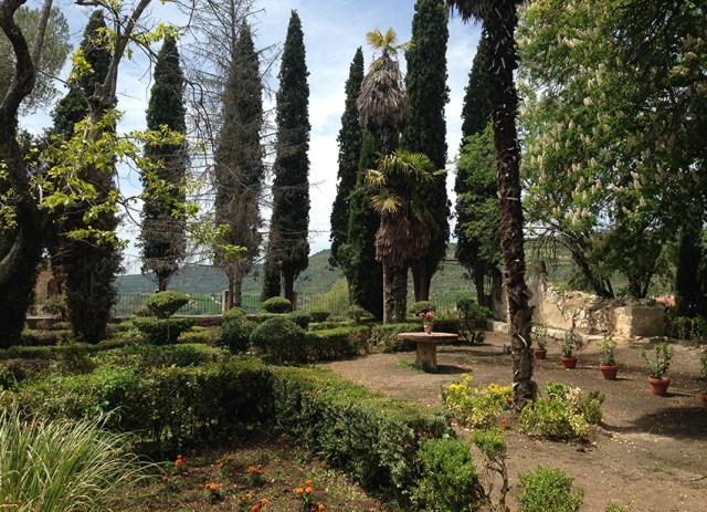 Jardines de la Real Fábrica de Paños