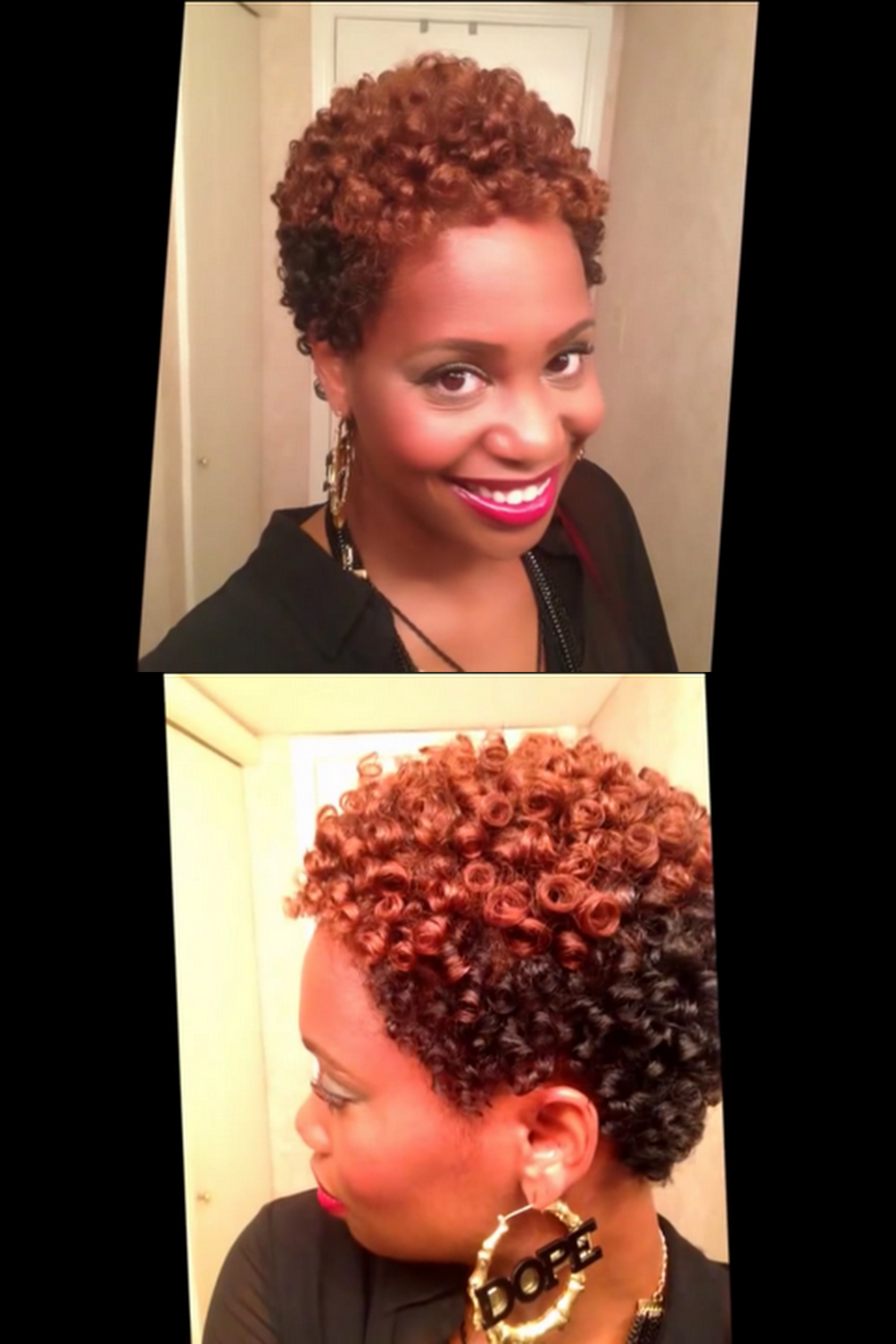 4 Ways to Rock Roller Sets and Bantu Knot Outs on Short Natural Hair