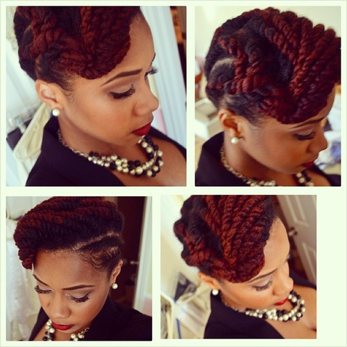 10 Of The Most Gorgeous And Creative Chunky Twist Styles