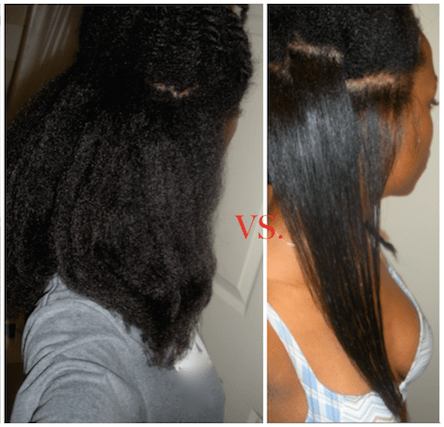 How I Flat Iron My Thick 4C Natural Hair SLEEK And