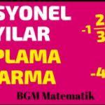 Rasyonel Sayılarda Toplama ve Çıkarma / 7 Sınıf Matematik