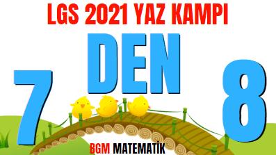 7 DEN 8 E LGS 2021 YAZ KAMPI BAŞLIYOR / TATİL İÇİN TAVSİYELER