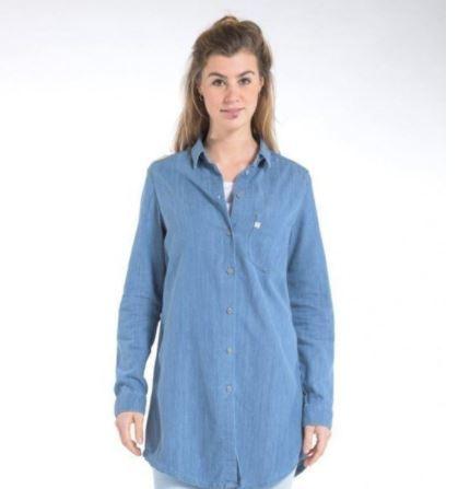 Mud Jeans Kim Long - Denim Shirt, €98.00, Photo Cred: Mud Jeans