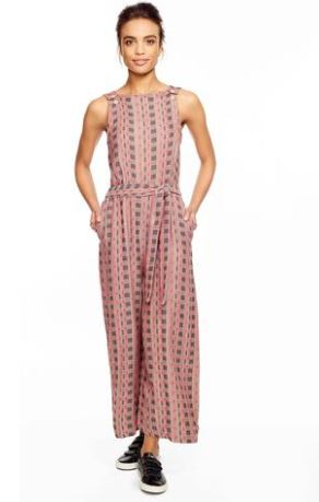 Ace & Jig Allovers In Twine (Turnaround) Jumpsuit, $298 from Accompany, Photo Cred: Accompany