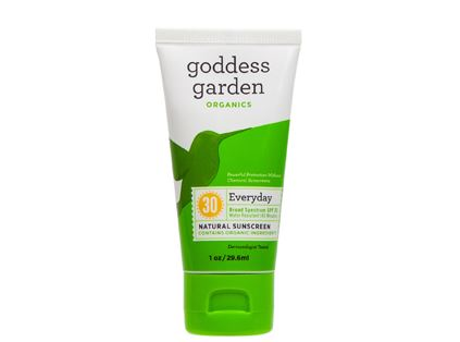 Goddess Garden Everyday Natural Sunscreen Lotion, SPF 30 (1 oz)