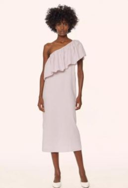 Mara Hoffman One Shoulder Midi Dress, $325, Photo Cred: Mara Hoffman