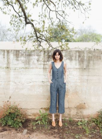 Raven & Lily Eliza Button Up Jumpsuit, $172, Photo Cred: Raven & Lily