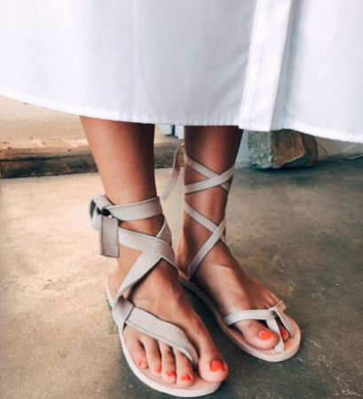 Brother Vellies Sand Selma Sandal, $195, Photo Cred Brother Vellies