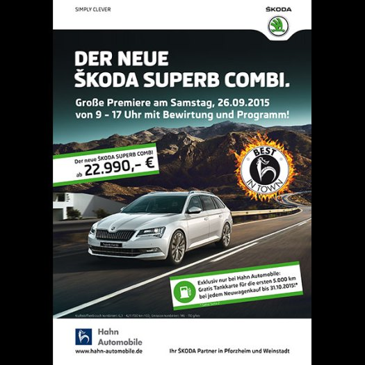 Flyer-Hahn Automobile – SKODA