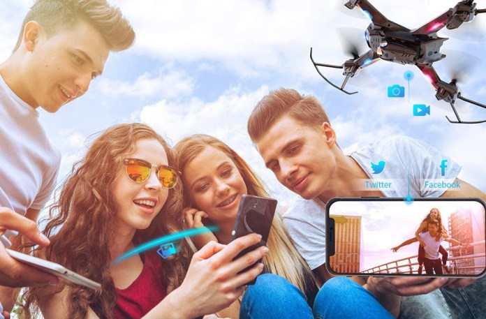 Get Amazon's #1 best-selling camera drone for $57 thanks to a rare double  discount
