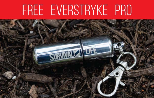 Everstryke Match Pro Lighter – Waterproof Fire Starter Especially for Survival and Emergency Use
