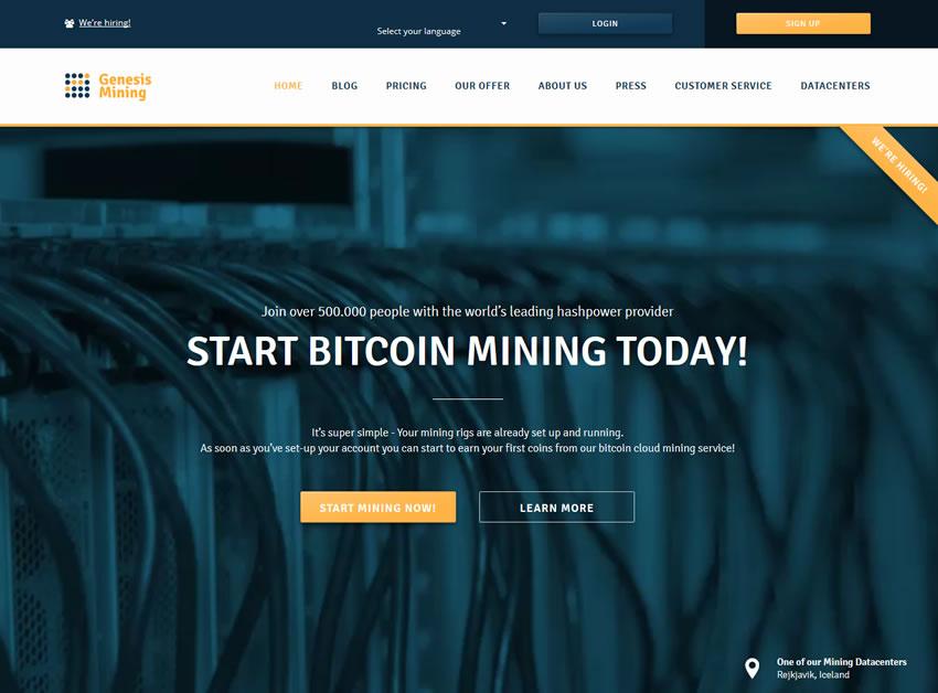 Genesis Mining: Coupon Code – 9c4pLH