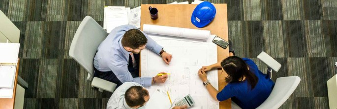 adult architect blueprint business