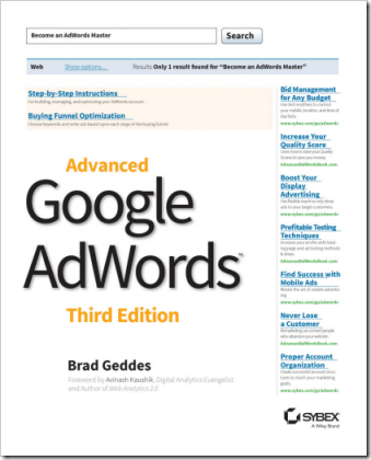 Advanced Google AdWords Book