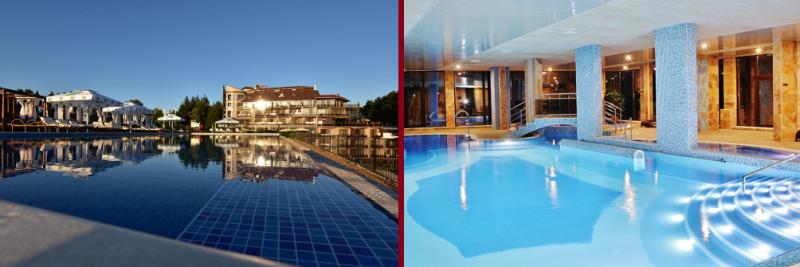 Минералните басейни на СПА Хотел Инфинити Велинград