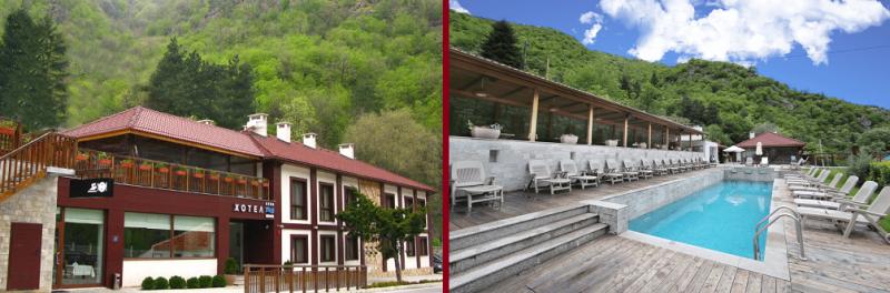 СПА Хотел Аква Варвара - един от най-добрите СПА хотели с външен топъл минерален басейн