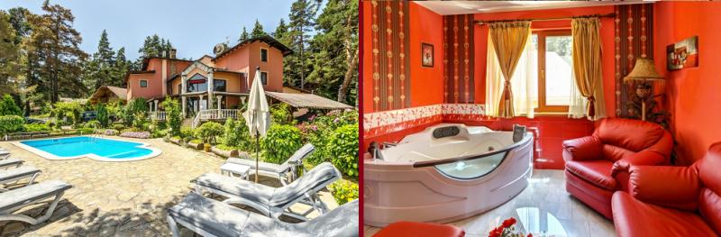 Семеен Хотел Кълвачеви - един от най- добрите хотели с джакузи в стаята