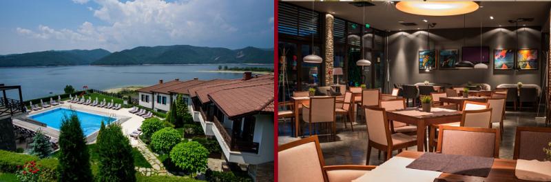 Хотелски Комлекс Rocca Resortна брега на язовир Кърджали