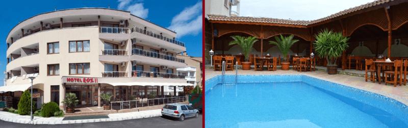 семейни хотели с басейн китен еос