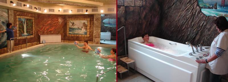 Спа Хотел Калифорния - един от хубавите хотели в Павел Баня с минерална вода