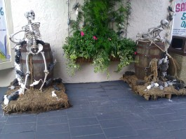 Skeleton (w/ Broom) VS. Rats