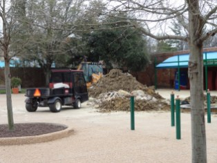 Pile of dirt? Check.