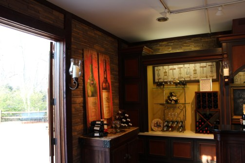 The stonework and overall attention to detail in this shop is brilliant