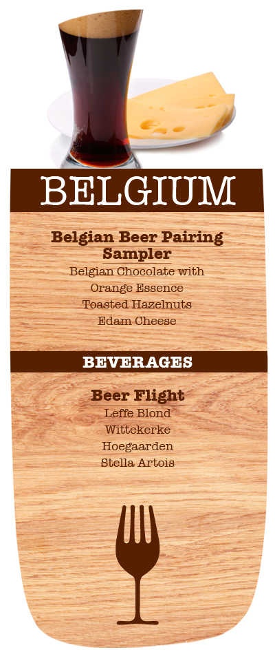 As you can see, Belgium is completely beer-centered