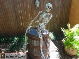 Another (rather classy) skeleton