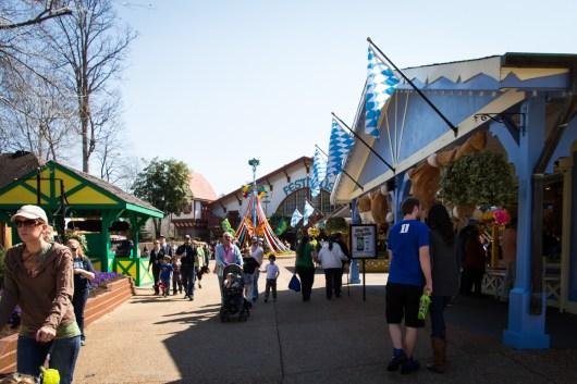 Walking up to Das Festhaus from the DarKastle side of Oktoberfest.