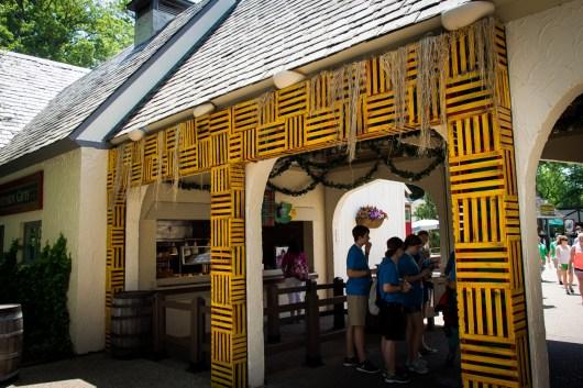 Scottish booth. Still not a fan