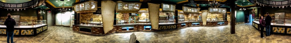 Marco Polo's Marketplace Interior Panorama