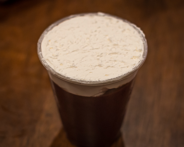 Busch Gardens Williamsburg Food and Wine Festival 2016 Guinness Mousse