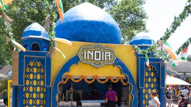 Busch Gardens Williamsburg Food and Wine Festival 2017 India