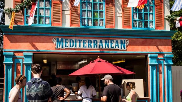 Busch Gardens Williamsburg Food and Wine Festival 2017 Mediterranean
