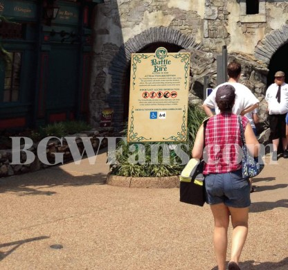 Leaked Battle For Eire Ride Information Sign